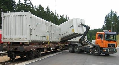 Container afzetsysteem code 95